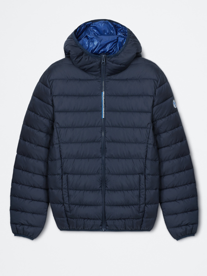 Picture of NORTH SAILS m jakna 602829 0802 SKYE 2 HOODED BOMBER JACKET