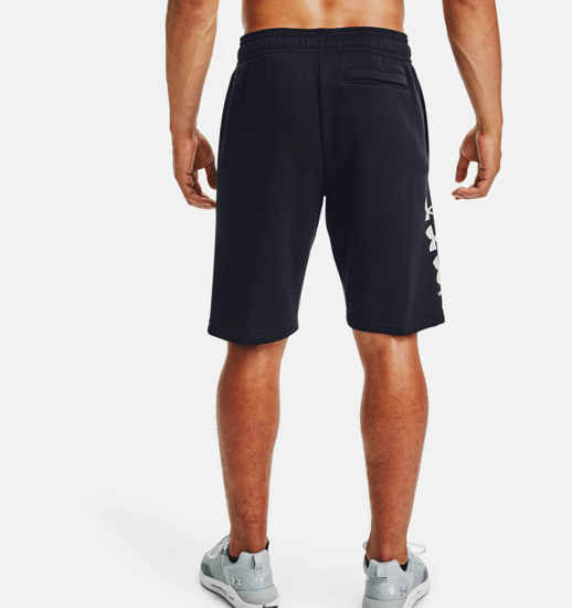 Picture of UNDER ARMOUR m hlače 1357119-001 RIVAL FLEECE MULTILOGO SHORTS