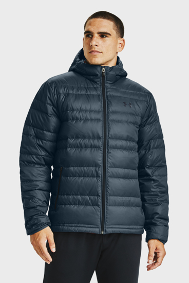 Picture of UNDER ARMOUR m bunda 1342738-467  DOWN HOODED JACKET
