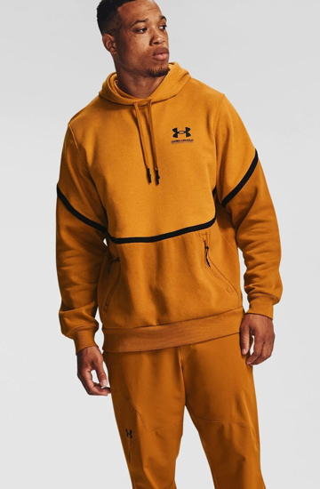 Picture of UNDER ARMOUR m kapucar 1357090-711 RIVAL FLEECE AMP HOODIE