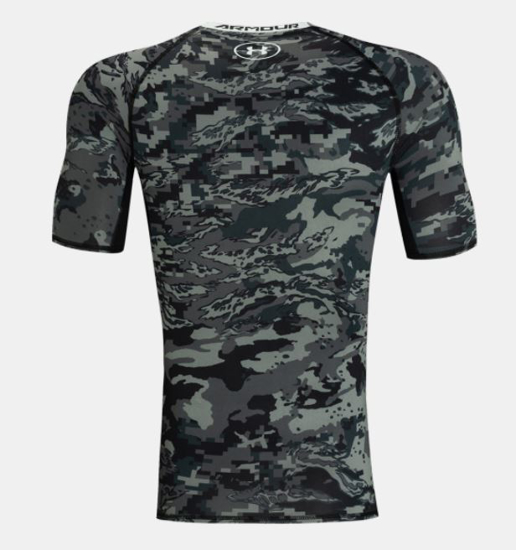 Picture of UNDER ARMOUR m majica 1345722-003 HEATGEAR ARMOUR SHORT SLEEVE