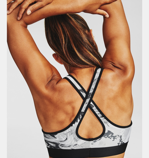Picture of UNDER ARMOUR ž trening top 1307213-024 MID CROSSBACK PRINT