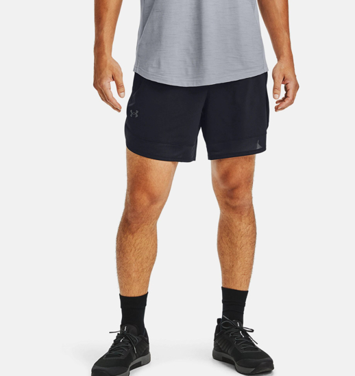 """Picture of UNDER ARMOUR m hlače 1356862-001 TRAINING STRETCH 7"""" SHORTS"""
