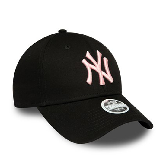 Picture of NEW ERA šilt kapa NEW YORK YANKEES WOMENS LEAGUE ESSENTIAL PINK LOGO  9FORTY 12489940