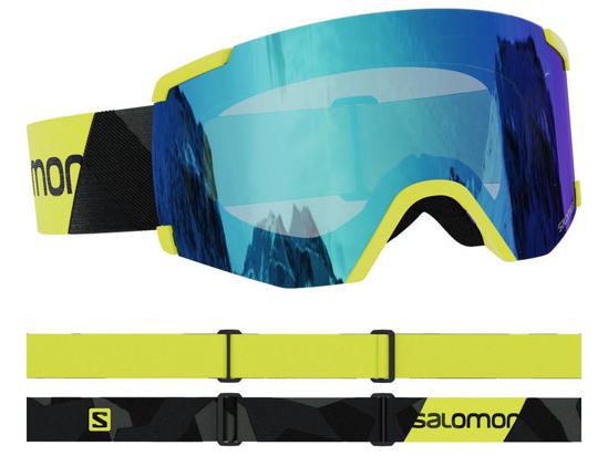 SALOMON odr smučarska očala L41152600 S/VIEW NEON YELLOW