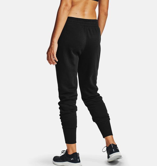 Picture of UNDER ARMOUR ž hlače 1356416-001 RIVAL FLEECE JOGGERS