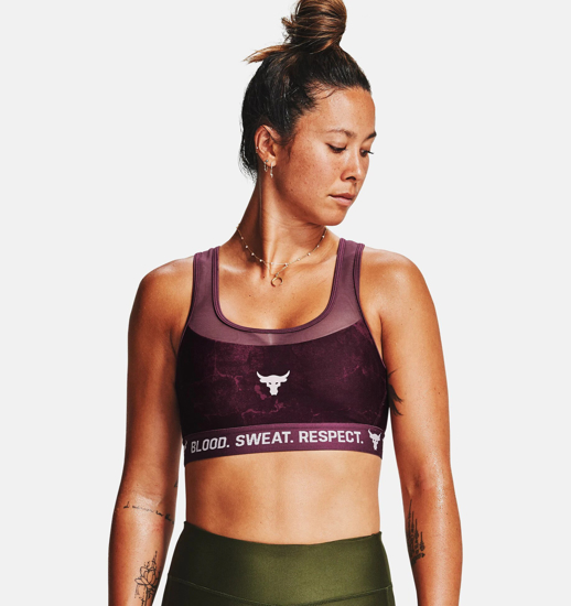 Picture of UNDER ARMOUR ž trening top 1356963-569 PROJECT ROCK SPORTS BRA