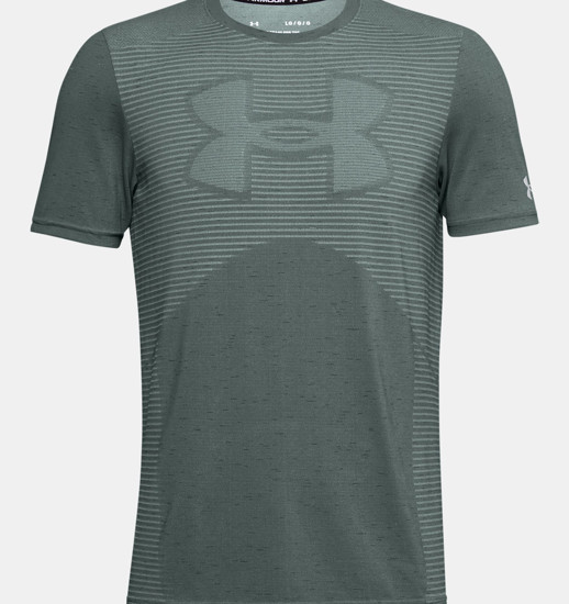Picture of UNDER ARMOUR m majica 1356798-424 SEAMLESS LOGO