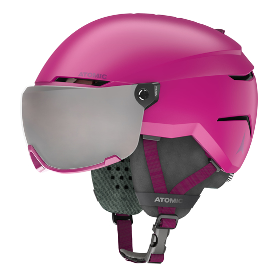 Picture of ATOMIC otr smučarska čelada AN5005720 SAVOR VISOR JR pink