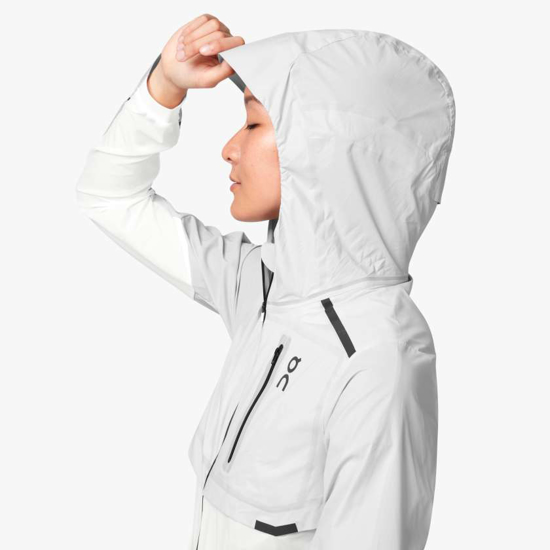 Picture of ON ž jakna 204.4102 WEATHER JACKET grey/white