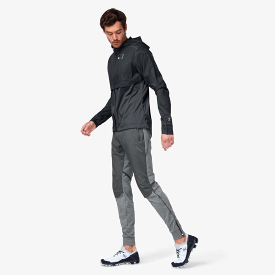 Picture of ON m jakna 104.4005 WEATHER JACKET black/shadow