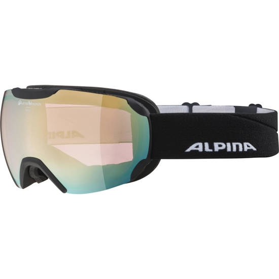 Picture of ALPINA odr smučarska očala 0-7201-833 PHEOS QVM black matt