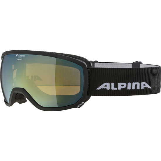 Picture of ALPINA odr smučarska očala 0-7259-831 SCARABEO S HM black matt