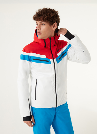 Picture of COLMAR m bunda 1356 1VC 01 GOLDEN EAGLE SKI JACKET white