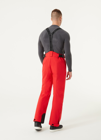 Picture of COLMAR m smučarske hlače 1423 1VC 15 STRETCH SALOPETTES red