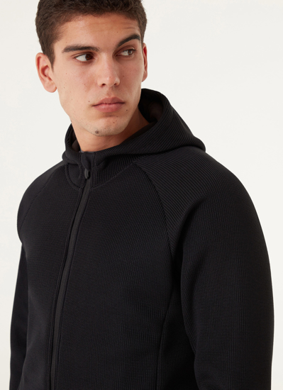 Picture of COLMAR m jopica 8349 4RW 99 TRICOT-EFFECT SKI SWEATSHIRT black