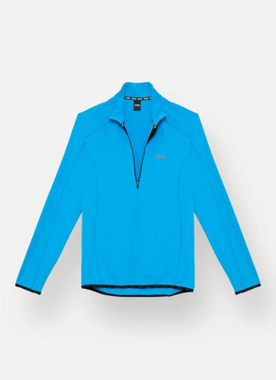 Picture of COLMAR m puli 8333 7LO 60 THERMAL STRETCH SKI SWEATER blue