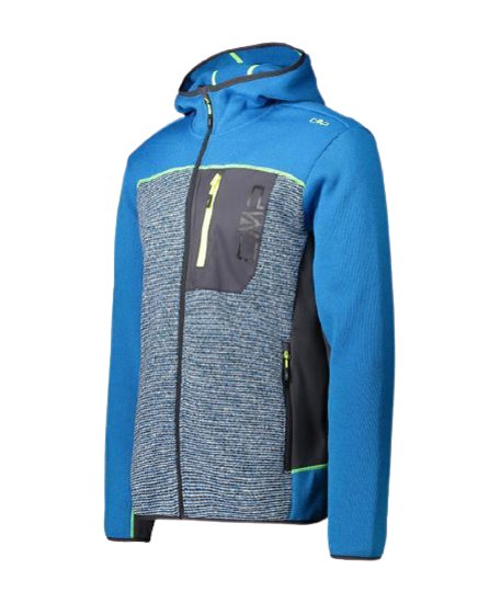 Picture of CMP m midlayer JACKET BLUE G 30H1737 L565