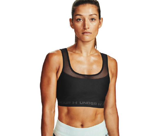 Picture of UNDER ARMOUR ž trening top MID CROSSBACK 1360305 001