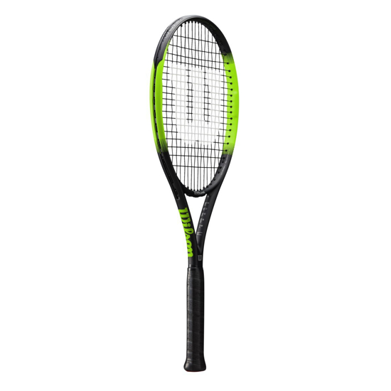 Picture of WILSON lopar za tenis WR01871 BLADE FEEL 105W  GREEN BLACK