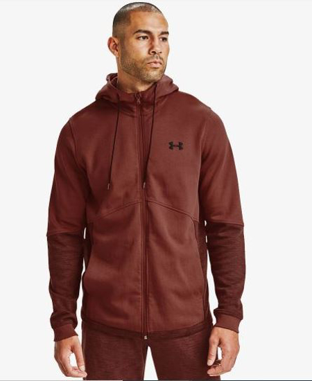 UNDER ARMOUR m jopica 1352012-688 DOUBLE KNIT FULL ZIP HOODIE