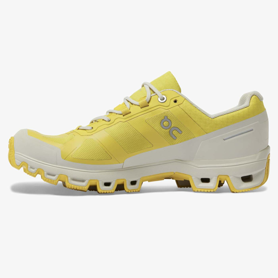 Picture of ON ž trail copati 22.99756 CLOUDVENTURE WATERPROOF mustard/pearl