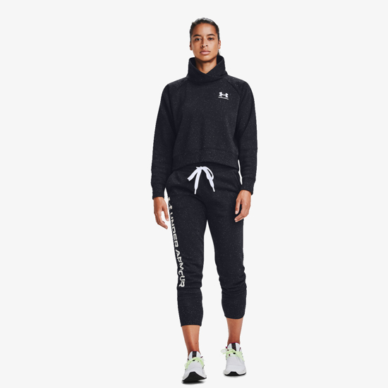 Picture of UNDER ARMOUR ž hlače 1356412-002 RIVAL FLEECE