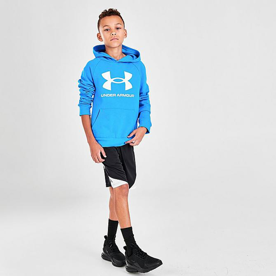 UNDER ARMOUR otr kapucar 1357585-428 RIVAL FLEECE