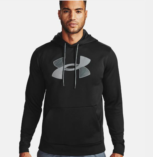 UNDER ARMOUR m kapucar 1357085-001 FLEECE® BIG LOGO