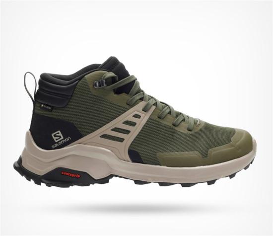 SALOMON m pohodni čevlji L41095800 X RAISE MID GTX