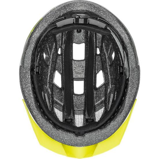 Picture of UVEX kolesarska čelada S41004802 AIR WING CC grey lime mat
