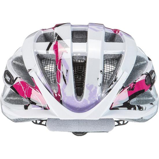 Picture of UVEX kolesarska čelada S41442601 AIR WING white pink