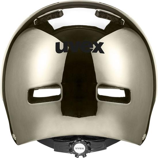 Picture of UVEX kolesarska čelada S41098801 HLMT 5 BIKE PRO chrome