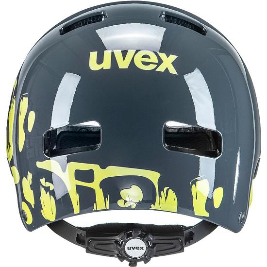 Picture of UVEX otr kolesarska čelada S41481911 KID 3 dirtbike grey lime