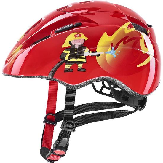 Picture of UVEX otr kolesarska čelada S41430630 KID 2 red fireman