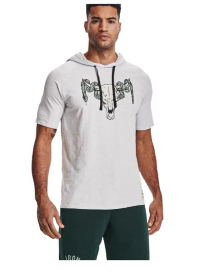 UNDER ARMOUR m majica 1361719-014 PROJECT ROCK CHARGED COTTON®