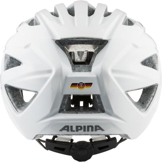 Picture of ALPINA kolesarska čelada 0-9755-110 PARANA white gloss