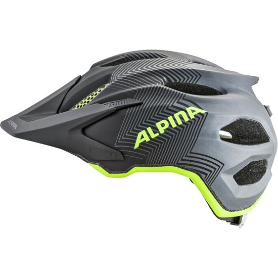 Picture of ALPINA otr kolesarska čelada 0-9702-132 CARAPAX JR black-neon-yellow