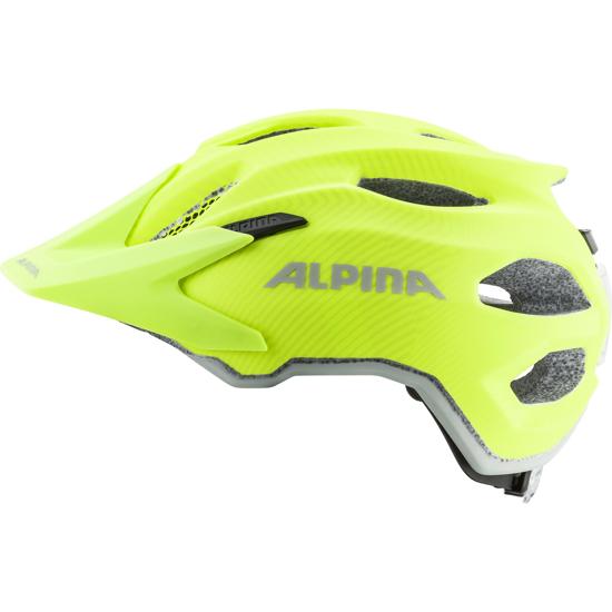 Picture of ALPINA otr kolesarska čelada 0-9697-140 CARAPAX JR FLASH be visible