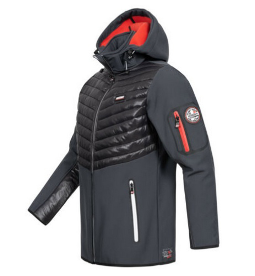 Picture of GEOGRAPHICAL NORWAY m softshell TYLONSHELL d-grey