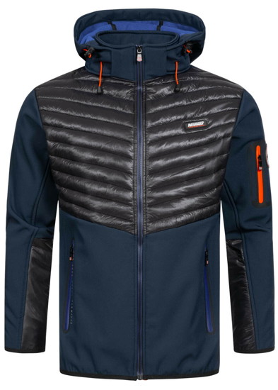 Picture of GEOGRAPHICAL NORWAY m softshell TYLONSHELL navy