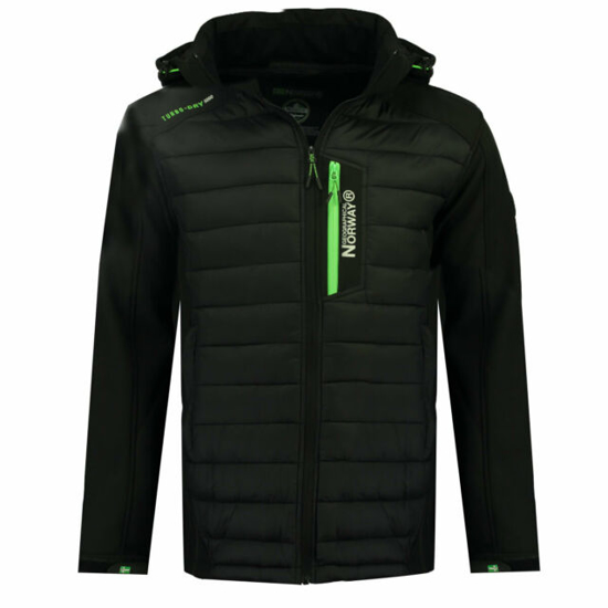 Picture of GEOGRAPHICAL NORWAY m softshell TAXON black