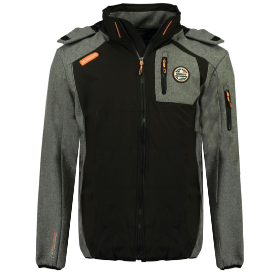 Picture of GEOGRAPHICAL NORWAY m softshell TINTILLE black