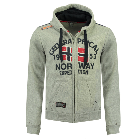 Picture of GEOGRAPHICAL NORWAY m jopica FLAG b-grey