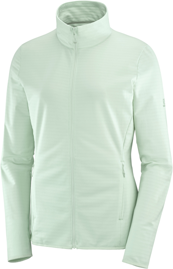 Picture of SALOMON ž midlayer LC1487100 OUTRACK FULL ZIP