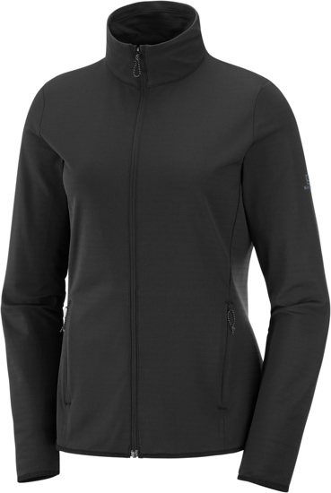 Picture of SALOMON ž midlayer LC1358200 OUTRACK FULL ZIP