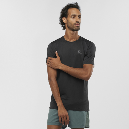 Picture of SALOMON m majica LC1282100 AGILE TRAINING TEE