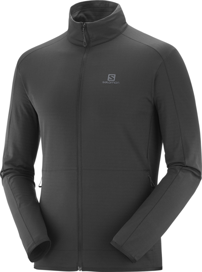 Picture of SALOMON m midlayer LC1369200 OUTRACK FULL ZIP