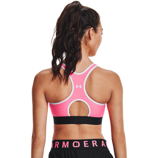 Picture of UNDER ARMOUR ž trening top 1307196-653 MID SPORTS BRA
