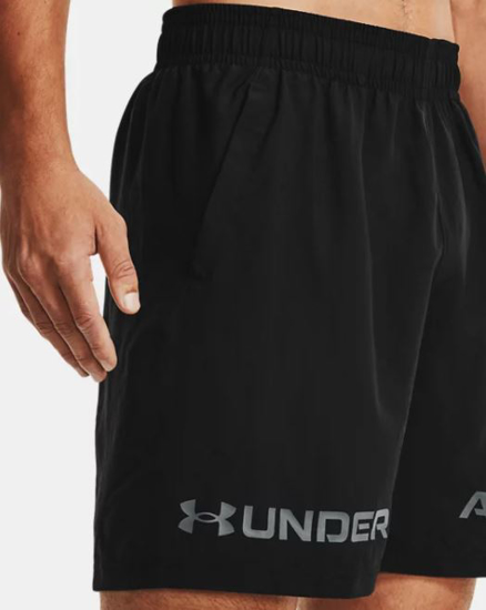 Picture of UNDER ARMOUR m hlače 1361433-001 WOVEN GRAPHIC WORDMARK